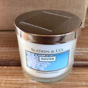 B&BW Single Wick Winter Candle